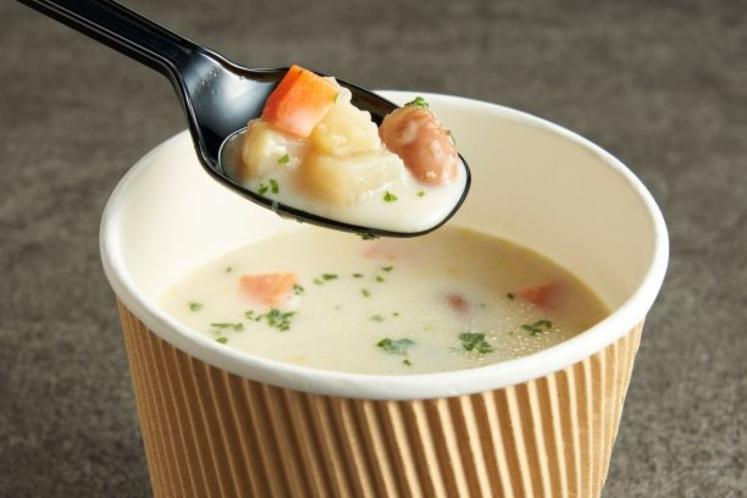 野菜たっぷり日替わりスープ(一例)