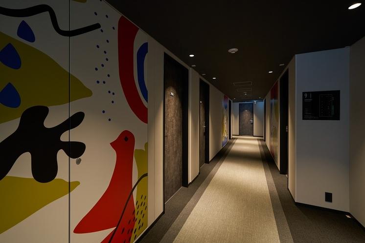 客室階廊下