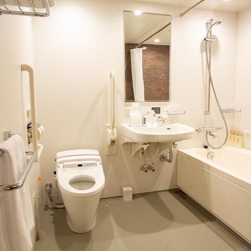【客室】ユニバーサルバストイレ