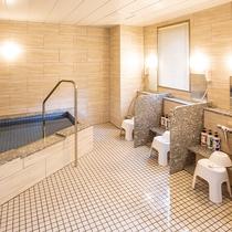 浴場、サウナ(男湯)ご利用時間(18:00~23:00/6:00~8:00)