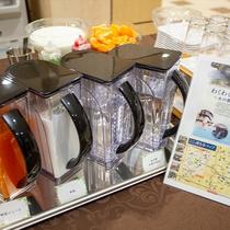 朝食バイキング(ドリンク一例)ご利用時間/6:30~9:30