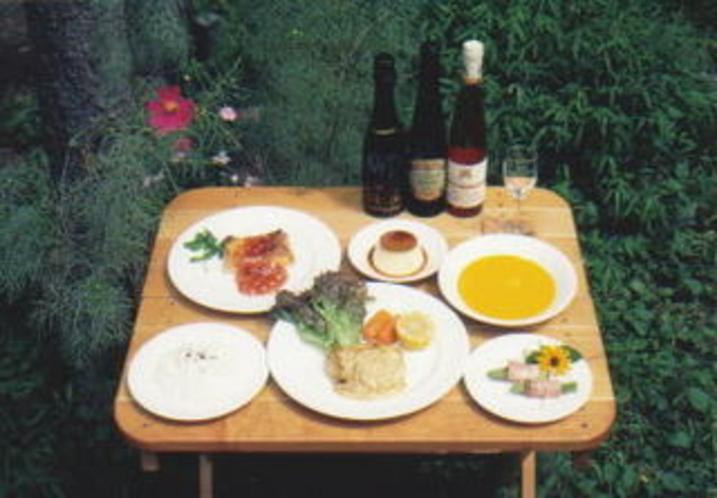 フルコース料理写真