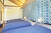 BLU ROOM 寝室