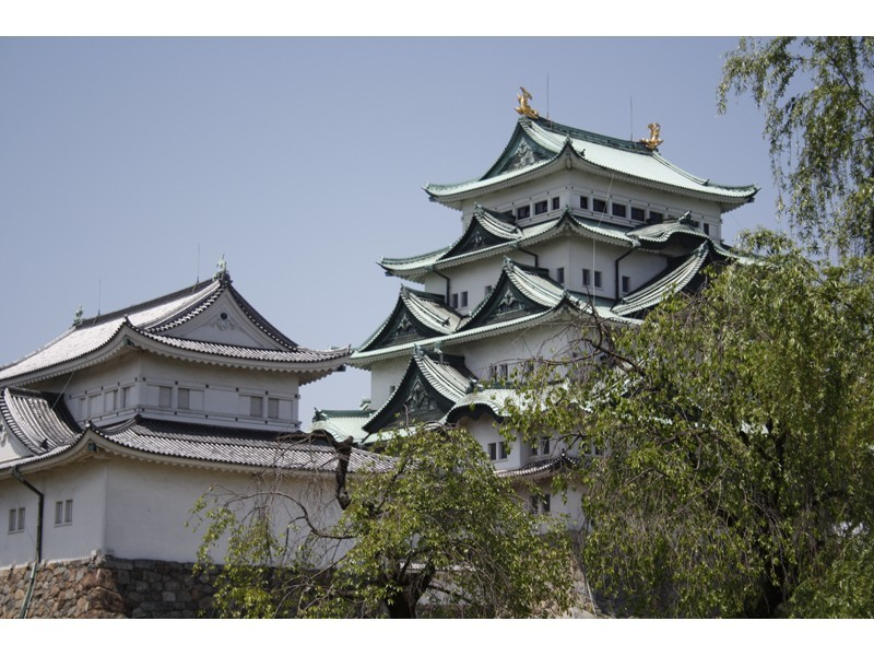 名古屋城(天守閣は現在休業中です)