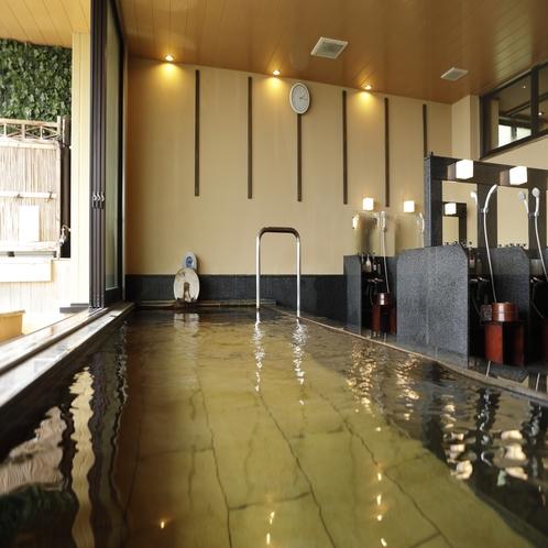 【大浴場 展望太閤温泉】効能は貧血症、更年期障害、神経痛、リューマチ、冷え症、婦人病に
