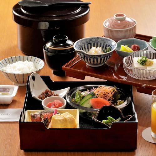 【朝食】素材にこだわったやさしい和の朝食をご賞味くださいませ