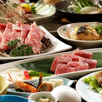 【夕食】料理長が手塩にかけた、滋賀の恵みがたっぷりつまった会席和食