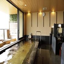【大浴場 展望太閤温泉】この温泉に入ると子宝に恵まれるとして親しまれています。