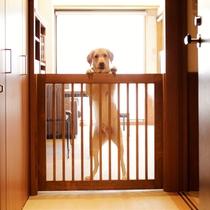 飛び出し防止ゲートがございます