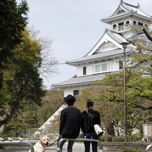 城の中の長浜城歴史博物館には長浜の歴史がつまっています