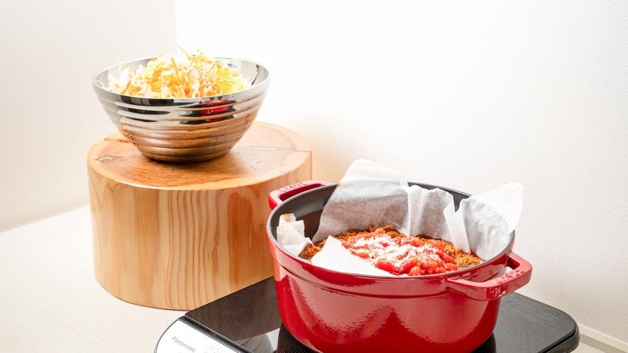 沖縄料理タコライスには欠かせないタコスミート!スパイシーな味わいをお楽しみください。