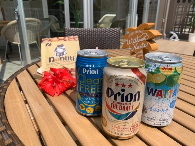 【プラン特典】沖縄限定アルコール飲料とおつまみの晩酌セットプラン