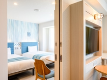 【コネクティングルーム】大人4名様でのご宿泊でも安心!同じ空間でお過ごしいただけます。