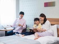 【客室】小学6年生まで添い寝無料