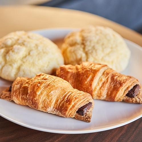 ホーム試合日のご宿泊者限定!選手にも提供している特製パンをご提供!