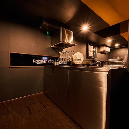 全室IHコンロ付きシステムキッチンを完備