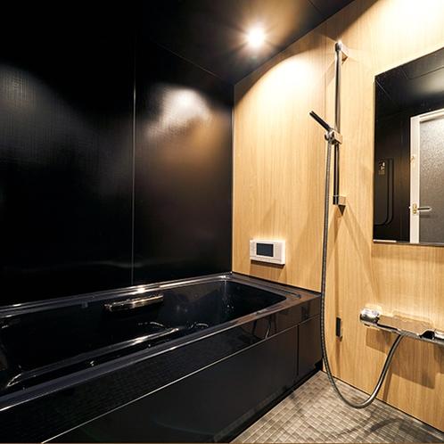 高級感のあるお風呂は至福のリラックスタイム!