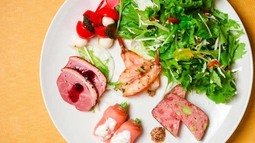 イタリアンディナーコース:洋食コース(前菜盛り)