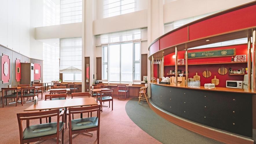 1階カフェ朝食会場