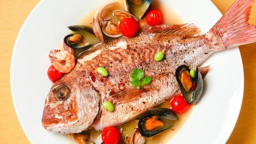 魚料理 - アクアパッツァ -