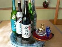 【会津の地酒】会津の銘酒 いろいろ♪