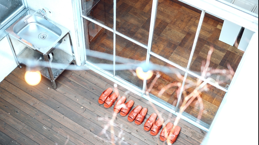 ・【KYAGATAKE】上から見た中庭