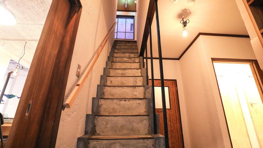 ・【シェアスペース】階段 ※当館にはエレベーターがございません