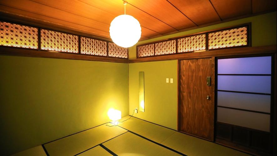 ・【JIZO】布団4組ご用意で最大4名宿泊可能