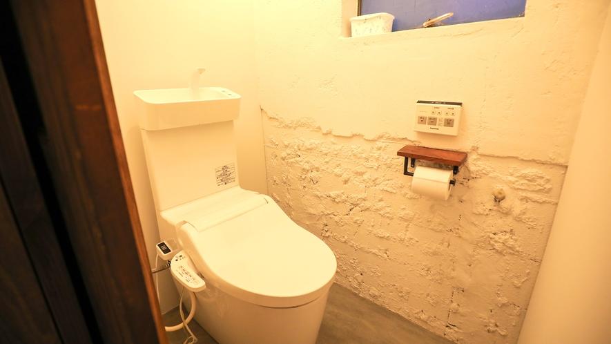 ・【シェアスペース】温水洗浄便座付トイレを完備