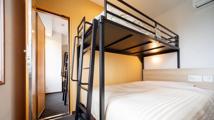 【コネクティングルーム】2部屋繋がるお部屋。グループ旅行にピッタリです。