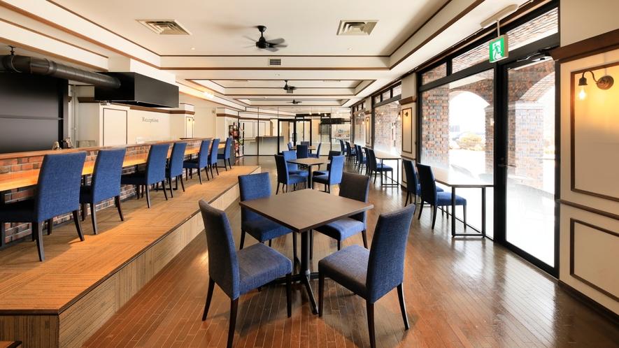 【レストラン】開放感のある空間*