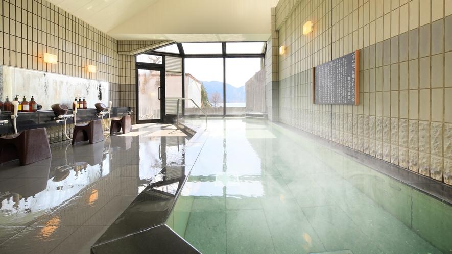 【大浴場】源泉かけ流しの温泉でのんびり*