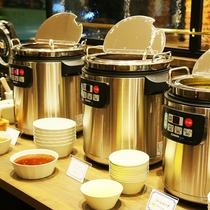 朝食メニュー一例<スープ類>
