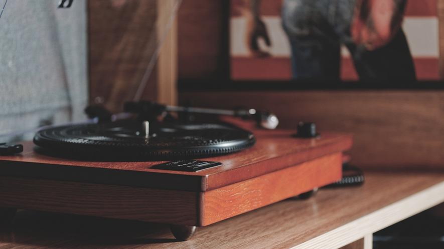 客室レコードプレーヤー
