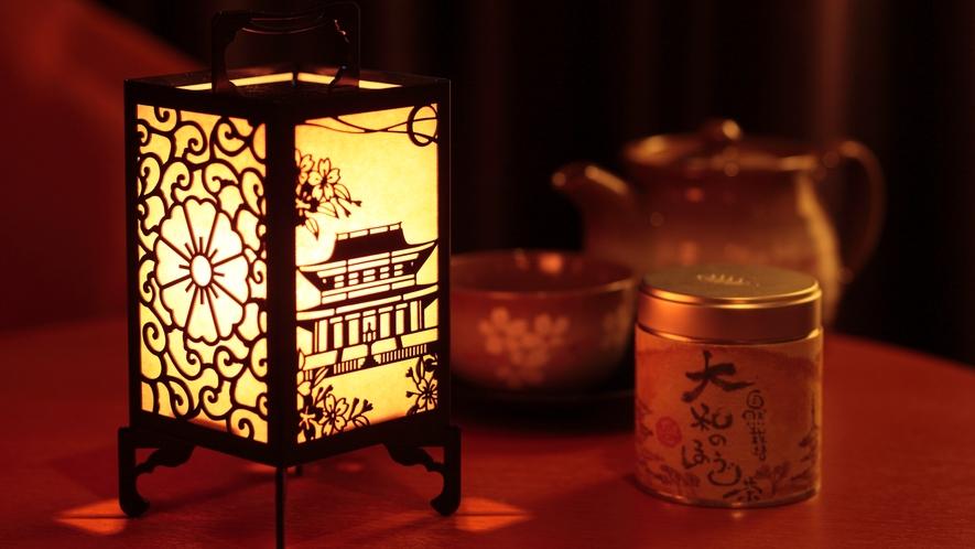 コンセプトルーム-金峯山寺-行燈