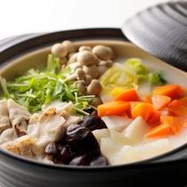 【朝食】豆乳鍋