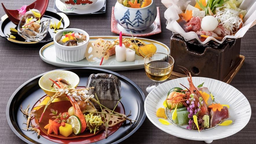 和食【和処 よしの】/吟味した確かな食材。「四季」を感じる日本料理をお楽しみください