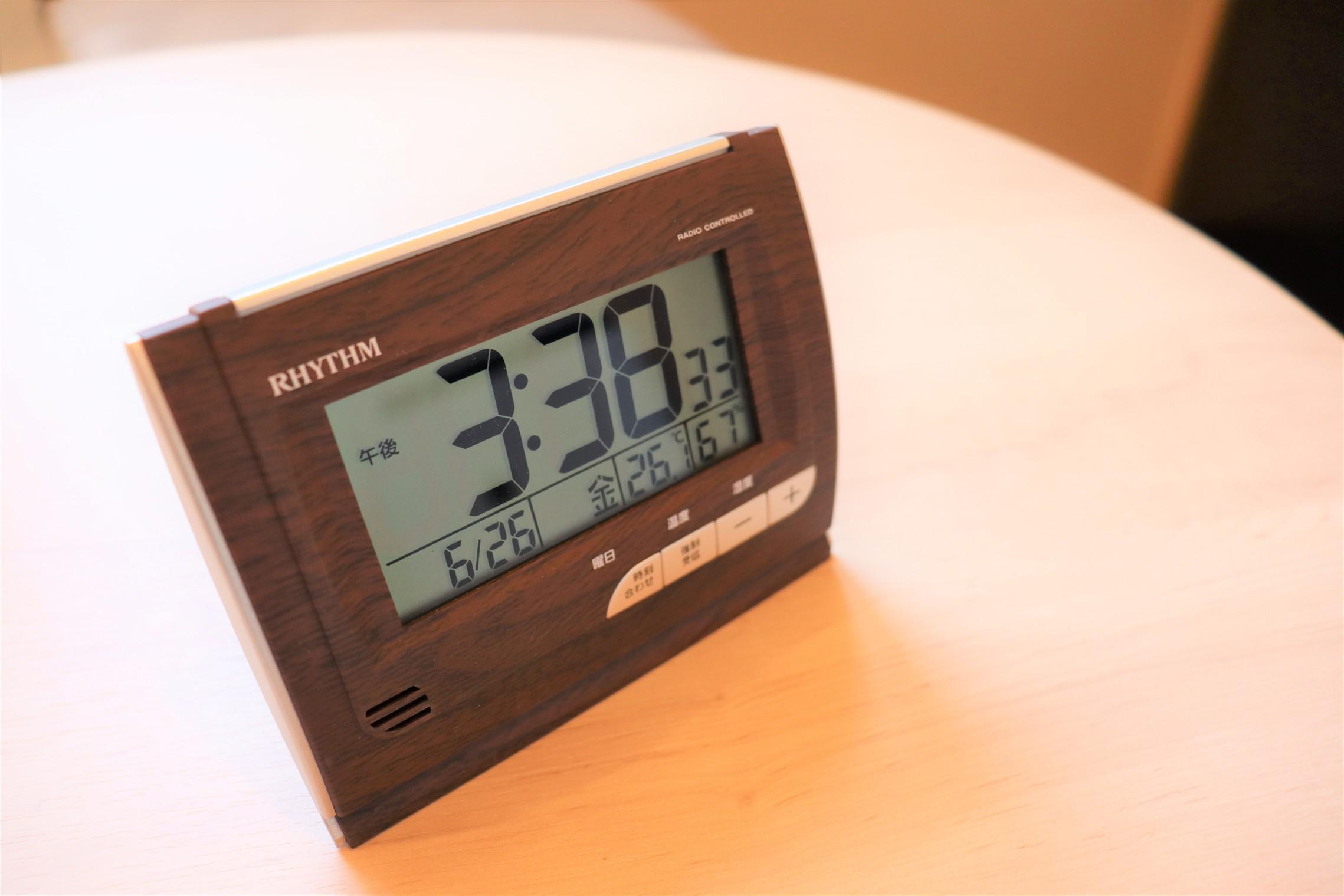 客室備品(時計)
