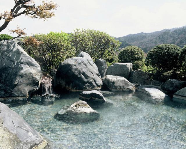 さぎの湯荘の温泉はすべて掛け流しです!