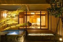 露天風呂付き客室 (夜景2)