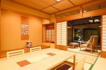 露天風呂付き客室 「梅」 全景