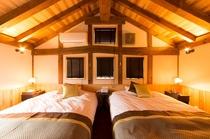 客室 田の蔵 ベッド