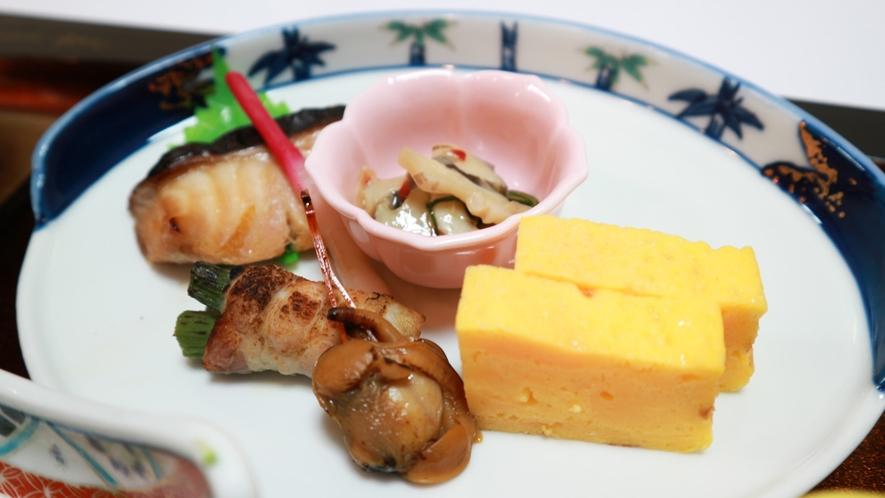 *【夕食/焼き物一例】いろんな焼き物を一皿に!