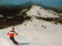 スキーは楽しい