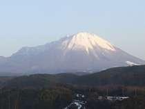 初冬の大山