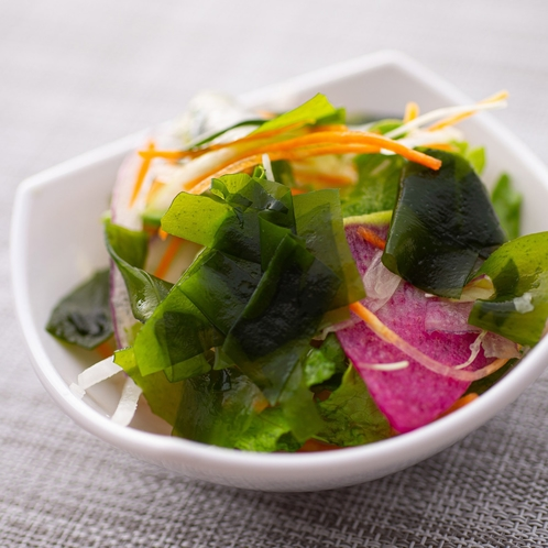 【Organic】ご当地メニューの鳴門わかめをお味噌汁やサラダにトッピング♪