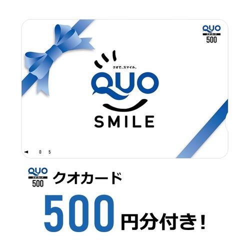 プランで500円のクオカードがついてきます。コンビニで利用可能。