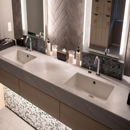 【Natural】◆天然温泉 太龍の湯◆脱衣所洗面台もおしゃれです♪