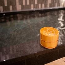 【Natural】◆天然温泉 太龍の湯◆ひのきの桶がいい香りです♪