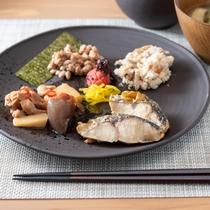 無料朝食ビュッフェ(7:00~9:00)